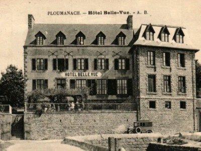 L'ancien hôtel Bellevue